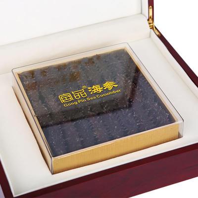 宫品海参5A淡干野生海参【250克】红木礼盒装